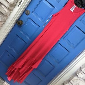 Free People Large Red Dress